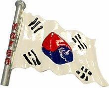 zamonji Asien Länder Flagge Kühlschrank