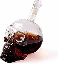 zanasta Totenkopf Flasche - 350ml | Deko