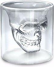 zanasta Totenkopf Glas (25ml) Schädel Shotglas