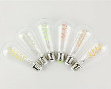 Zantec E27 Retro Stil LED Lampe mit Single