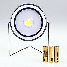 Zantec Multifunktionale COB LED Camping Lampe Notlicht Grill Lampe für Outdoor Aktivitäten