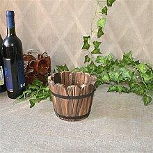 Zantec Retro Vintage Holz Blumenkasten für Garten