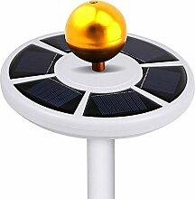 Zantec Solar betriebene Fahnenmast Lampe 26LED im