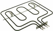 Zanussi 3491255018 Backofen und Herdzubehör / Heizelemente / Kochfeld / Quality Ersatz oben dual Ofen / Grill-Element für Ihr Ofen / Dieser Teil / Zubehör eignet sich für verschiedene Marken