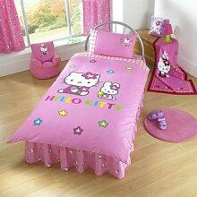 Zap Hello Kitty mit Volant, für Einzelbe