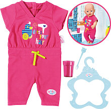 Zapf Creation Baby Born Badeset Jumpsuit (Pink) [Kinderspielzeug]