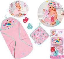 Zapf Creation Baby Born Bath Kapuzenhandtuch &