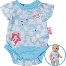 Zapf Creation Baby Born Body Kollektion (Blau) [Kinderspielzeug]
