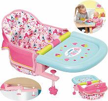 Zapf Creation Baby Born Tischsitz (Rosa-Türkis)