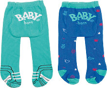 Zapf Creation Baby Born Trend Strumpfhose 2er Pack