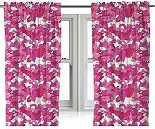 Zappi Co Pink Tarnfarbe Bettwäsche Design in