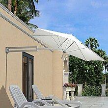 ZAQI Sonnenschirm Ampelschirm Gartenschirm