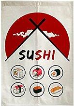 Zarte Tür Vorhang Japanische Restaurant Küche Vorhang Hotel Sushi Bar Dekoration, # 01