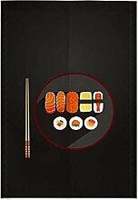 Zarte Tür Vorhang Japanische Restaurant Küche Vorhang Hotel Sushi Bar Dekoration, # 05