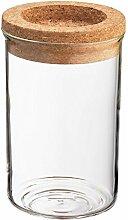 Zassenhaus Vorratsglas mit Korkdeckel 300 ml,