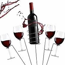 Zatiki Outdoor-Weinglas und Flaschenhalter,