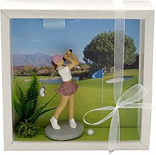 ZauberDeko Geldgeschenk Verpackung Golf Frau