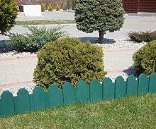 Zaun grün 2,40 m Rasenkanten Beeteinfassung