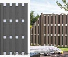Zaunbau, einfach mit dem Jumbo System 95x179cm - Sichtschutz, Sichtschutz Elemente, Sichtschutzwand, Windschutz