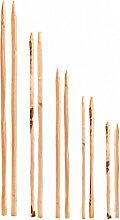 Zaunlatten Kastanie Natur Zaunbretter in 120 cm