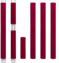 ZAWAGIIK Kühlschrank-Türgriffabdeckungen Set von