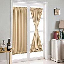 Zay Vorhang, einfarbig, Sonnenschutz, Stoff,