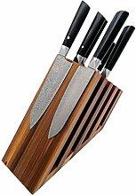 Zayiko gefächerter magnetischer Messerblock aus