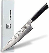 zayiko Kuo Damastmesser Chefmesser 20,30 cm Klinge