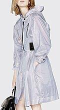 ZAYPJ XRXY Normallack-weiblicher ultradünner Sonnenschutz-Kleidung/langer Abschnitt dünner Anti-UVbreathable Mantel/zufälliger bequemer Haut-freundlicher Lichtschutz-Wolljacke