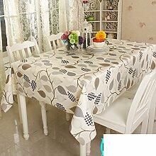 ZB STORE PVC Wasserdicht Öl Tuch,Einweg-Plastik