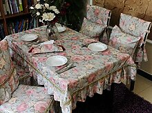 ZB STORE Tischtuch,Kunst Quadratischen couchtisch