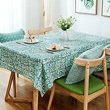 ZBB Amerikanischen Minimalismus Moderne Tischdecke/Computer Schreibtisch-tischdecke/Stoff-tischdecke-C 110x170cm(43x67inch)