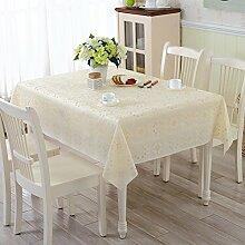 ZBB PVC Garten Tischdecke/Wasser Und ?l-burn-proof Plastik-tischdecke/Weichglas Tuch Europ?isch Anmutenden Coffee Table Mat-J 100x160cm(39x63inch)