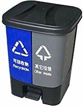 ZBM Mülltonne, klassifizierte Mülleimer Doppel