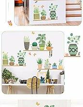 Zbzmm Grüne Pflanze Bonsai Schmetterling