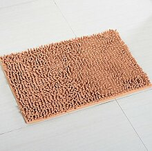 ZC&J Chenille Teppiche, Küche Schlafzimmer Wohnzimmer Teppich, rutschfeste Matten Teppich, rechteckiger Teppich,A6,23.6in*35.4in