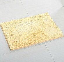 ZC&J Chenille Teppiche, Küche Schlafzimmer Wohnzimmer Teppich, rutschfeste Matten Teppich, rechteckiger Teppich,B2,23.6in*35.4in