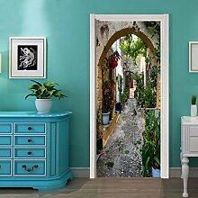 ZC&J HD zu drucken, Aufkleber, Umweltschutz pvc selbstklebende Türaufkleber, heimische Wohnzimmer Schlafzimmer Deko Tür und Wandsticker,A4,77*200cm