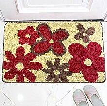 ZC&J Herkömmliche Teppichmatten , flauschiger seidig glatter, leicht Fleck, rechteckiger Teppich zu reinigen,A4,31.4in*47.2in