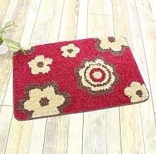 ZC&J Herkömmliche Teppichmatten , flauschiger seidig glatter, leicht Fleck, rechteckiger Teppich zu reinigen,A6,19.6in*31.4in