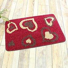 ZC&J Herkömmliche Teppichmatten , flauschiger seidig glatter, leicht Fleck, rechteckiger Teppich zu reinigen,A3,31.4in*47.2in