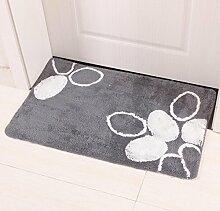 ZC&J Küche Wohnzimmer Schlafzimmer der Teppich, Bad Matte saugfähige rutschfeste Matte, leicht Fleck zu reinigen, rechteckiger Teppich,A,23.6in*35.4in