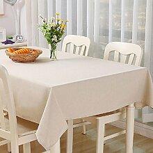 ZC&J Multifunktions-Decktuch Tischdecke für Couchtisch Esstisch Schreibtisch im Freien Picknick-Tischmatten, Leinen staubdichte praktische Verschleiß-resistente Tischdecke,A,140*220CM