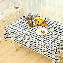 ZC&J Outdoor Picknick Tischdecke, europäischen Stil Garten Stil Mehrzweck-Deckel Tuch, gelten für Hotels, Familie Küche, Staubschutz Tuch,B,70*70CM