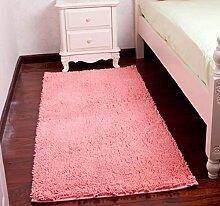 ZC&J Schlafzimmer Teppich, Betteinlagen , dicke Matten Schlafzimmer Wohnzimmer, einfach Fleck zu reinigen, rechteckiger Teppich,A4,27.5in*55.1in