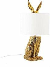 ZCCLCH Imitation Gold Tischlampe Nordic Dekorative