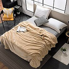 ZCCZ Sofa Decken Decke Winter Dicke Decke Flanell