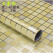 ZCHENG Badezimmer Wandaufkleber PVC Mosaik Tapete