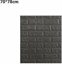 ZCHENG Bunte Foam 3D Brick Wall Aufkleber