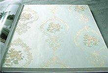 ZCHENG Europäische Blumen Tapete Hintergrund